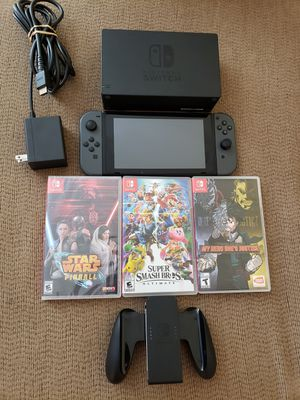 NINTENDO SWITCH+ GAMES for Sale in Las Vegas, NV