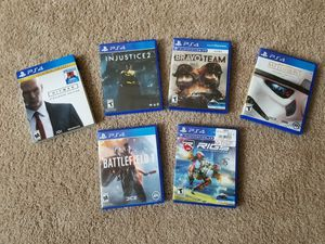 PS4 and PS4 VR games for Sale in Durham, NC