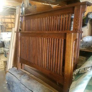 Amish Full Mission Style Bed Frame for Sale in Melba, ID