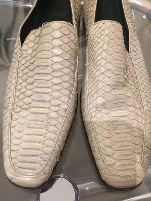 Hugo Boss Python loafers, size 9 (fit like 10) for Sale in Dallas, TX