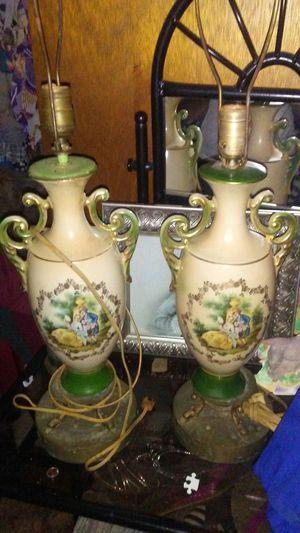 "Antique 1940""s lamps ..George washington for Sale in Abilene, TX"