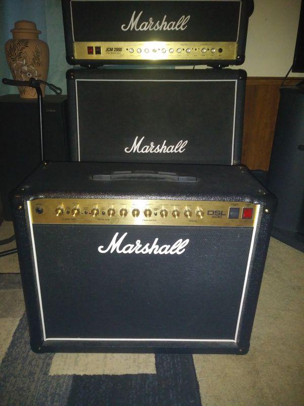 Marshall dsl 40 c tube guitar amp