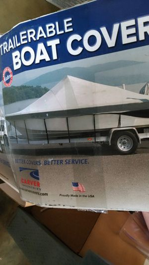 BOAT COVER FOR 16' ** NEW ** for Sale in Ocean Shores, WA