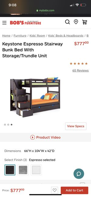 Twin sized bunk beds for young boys for Sale in Pawtucket, RI