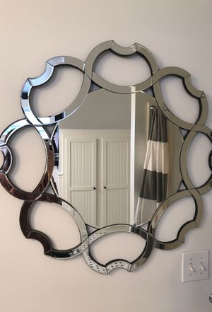 Scalloped wall mirror for Sale in Hubbard, OR