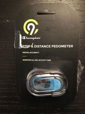 CHAMPION DIGITAL PEDOMETER EXERCISE STEP DISTANCE CALORIE TRACKER for Sale in Santa Clarita, CA