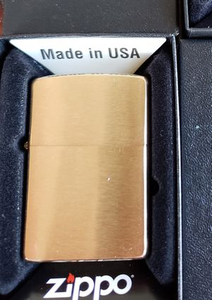 Brass beans new authentic zippo lighter. for Sale in El Monte, CA