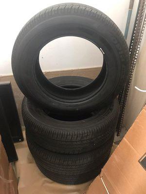 4 Bridgestone Ecopia PLUS P235/65R18 like NEW - $350 for Sale in Madera, CA
