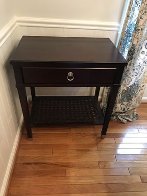 Nightstand/Side Table Set (Dark Mahogany finish) for Sale in MONTGOMRY VLG, MD