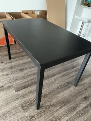 Black dining table for Sale in Tampa, FL