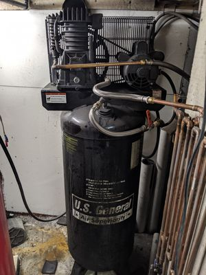Us general 5 hp compressor for Sale in Boston, MA
