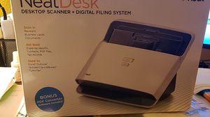 NeatDesk desktop scanner & filing system for Sale in Kent, WA