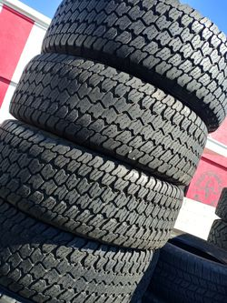 Tengo Un Set De Llantas 265 70 17 Goodyear Wrangler for Sale in Lakewood,  CA