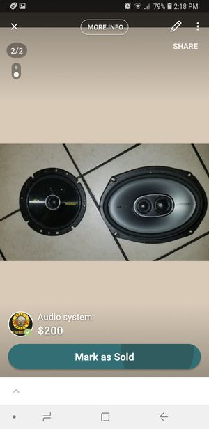 car audio system for Sale in San Francisco, CA