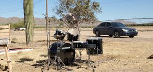 Ludwig drum set 5 piece drum kit plus extra symbols and stands for Sale in Mobile, AZ