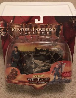 Collectible Disney Pirates of the Caribbean At World's End - Deluxe Will Turner for Sale in Long Beach, CA