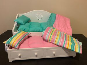 American girl doll trundle bed for Sale in NO HUNTINGDON, PA