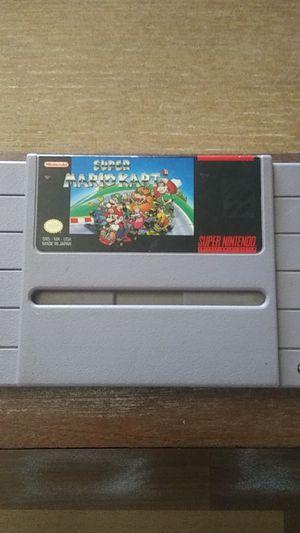 Super Mario Kart SNES Nintendo Cartridge for Sale in Tucson, AZ