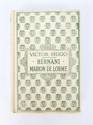 Hernani Marion de Lorme by Victor Hugo in French - Hardcover Nelson Editors, (circa 1930) for Sale in Trenton, NJ