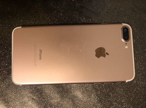 iphone 7 plus rose gold 256gb for Sale in Lexington, NC