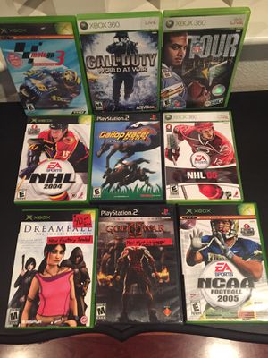 PS2 and XBox Video Games for Sale in Foothill Ranch, CA