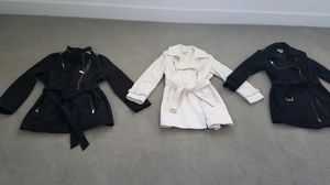 Michael Kors rain coat(black), and 2 dress coats for Sale in Chicago, IL