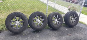 Off road tiers with rims for Sale in Aurora, IL