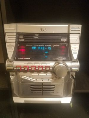 JVC MX-GB5 G-MAX Stereo System $180 OBO for Sale in Pleasant Valley, WV