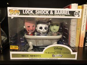 Lock,Shock,Barrel Nightmare Before Christmas Funko Pop 474 for Sale in Fresno, CA