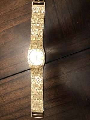10k yellow gold men's geneve watch for Sale in Bradenton, FL