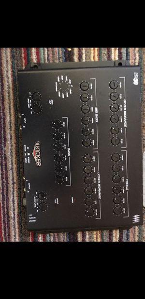 Kicker spl vehicle eq for Sale in Orting, WA