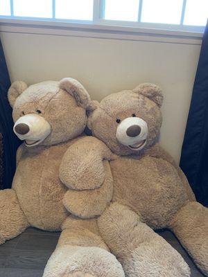 2 Big Teddy Bears for Sale in Escondido, CA