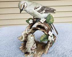 Masterpiece mocking bird statue collection for Sale in Dillsburg, PA
