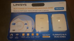 Linksys RE4000W 2 pack for Sale in Portland, OR