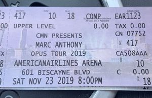 Marc Anthony concert for Sale in Carol City, FL