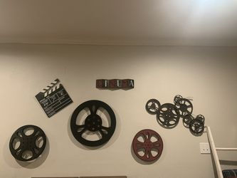 Large Movie Room Decor for Sale in Conroe,  TX