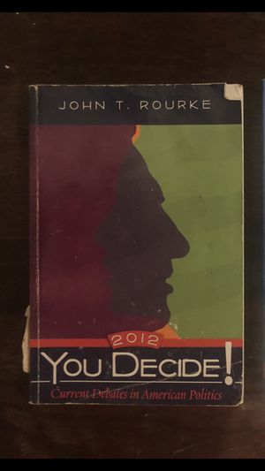 You decide: current debates in American politics for Sale in Houston, TX