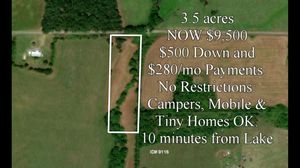 PAYMENTS $500 DOWN! 3.5 acres of private land in Romance with a creek, MUST SELL! for Sale in Little Rock, AR