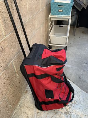 Wheeled Duffle Bag. Great Carry on for over night stay or plane for Sale in Redondo Beach, CA