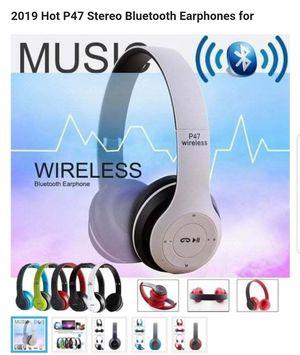 2019 Hot P47 Stereo Bluetooth Earphones for Folding WIFI Wireless Bluetooth 4.1 Headphones Headset for Sale in Philadelphia, PA