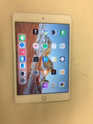 Apple ipad mini 4th gen 64gb wifi unlock with charger latest ios 14.2 for Sale in Houston, TX