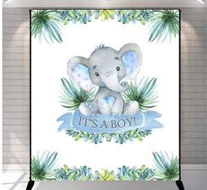 Perfect condition 5x6ft Vinyl Elephant Baby Shower Party Banner Decoration for Sale in Bolingbrook, IL