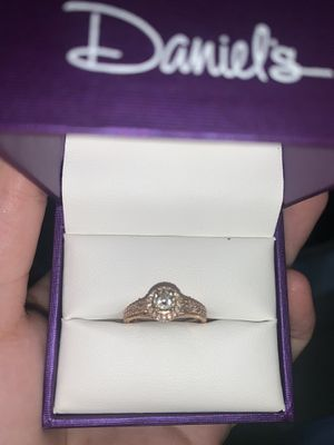 Engagement ring and wedding band for Sale in El Cajon, CA