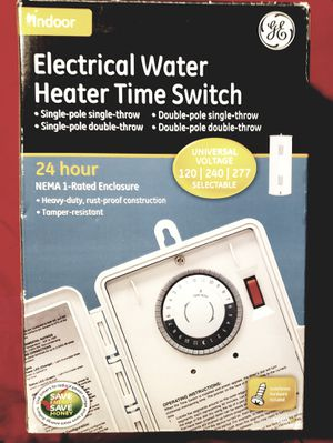 GE water heater timer for Sale in Matthews, NC