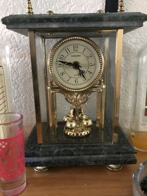 Gold and jade clock for Sale in Hayward, CA