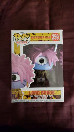 Funko pop, One Punch Man: Lord Boros for Sale in Tallahassee, FL