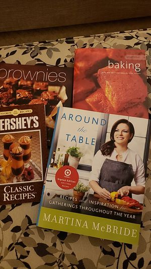 Assorted Cookbooks- 4 for 5 for Sale in Canton, OH
