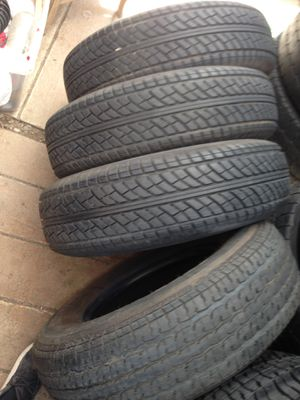 225-75-15 all four trailer tires 🔥 for Sale in Upland, CA