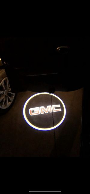 Gmc car door projector lights turns on and off automatically for Sale in Paramount, CA