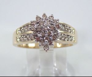 10k yellow gold engagement ring for Sale in Lowell, MA